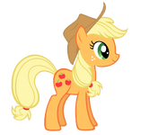 Applejack vector by durpy-d5ek4f5