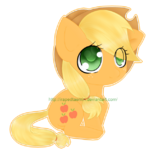 Applejack chibi by irapedtaemin-d4nue1q