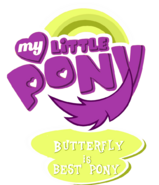 My Little Pony Logo Butterfly