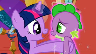 My little pony friendship is magic 2x02 the return of harmony part 2 12 twilight sparkle and spike