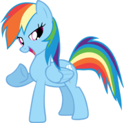 18033 - absurd res rainbow dash vector