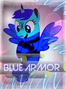 Blue Armor Photo
