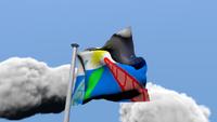 Bandera de cantermarca Blender