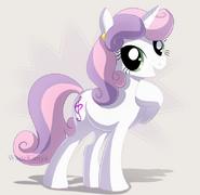 Sweetie belle by whitekimya-d5ki582