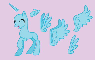 Happy adult pony base by rain approves-d57fec7
