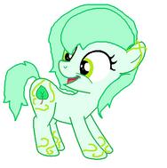 Plats Green y su Cutie Mark