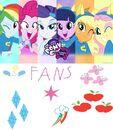 The mane 6 equestria girls by deltaraen-d6g6zoy