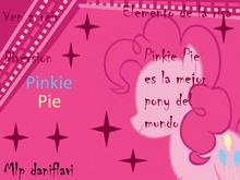 Pinkie Pie es la mejor