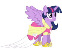 Vector 6 princess twilight sparkle by audiobeatzz-d5v828m