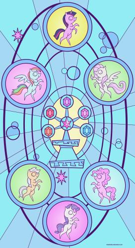 Vidrios de los elementos