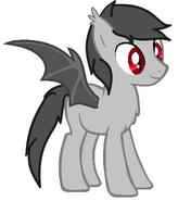 Brady - like a vampire pony
