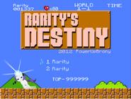 Rarity s destiny by powerupbrony-d522r63