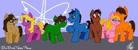 Big bang theory ponies by kanthara-d45w5mb