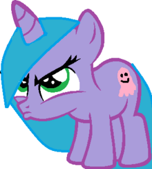 Mlp base angry pout by softybases-d5u51eu