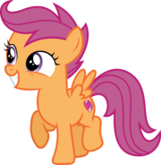 1316653 safe artist-colon-deratrox scootaloo newbie dash absurd res cutie mark simple background solo -dot-svg available the cmc's cutie marks trans
