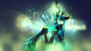 Queen chrysalis wallpaper by bommster-d4xolfw