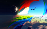 Rainbow dash eclipse by pewdiedash-d57xf45