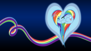 Rainbow dash heart bg by sirpayne-d4f2691
