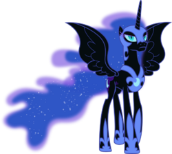 Nightmare Moon Vector
