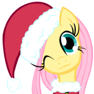 Merry Little Fluttershy By Demonbarber92 Redone by Asax0