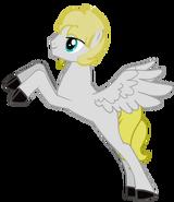 White Iron Adulto Volando by Dexter´s Laboratory