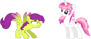 Lovely and butterfly mane swap
