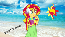 Sunset shimmer in the beach wallpaper by shahrinshuzaily1950-d7if44x
