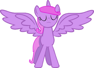 Base alicorn mode acctivated by ask spider blare-d5whcvr