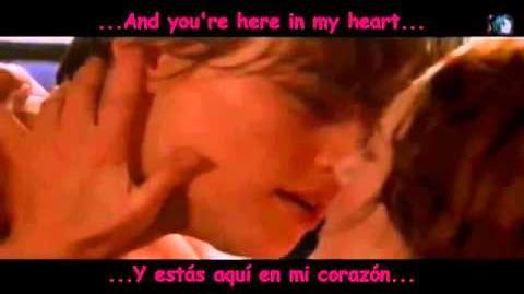Cancion titanic-subtitulos en español e ingles