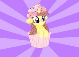Cupcake a la clever wit.