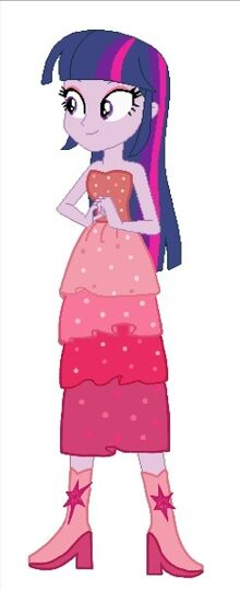 Twilight con vestido