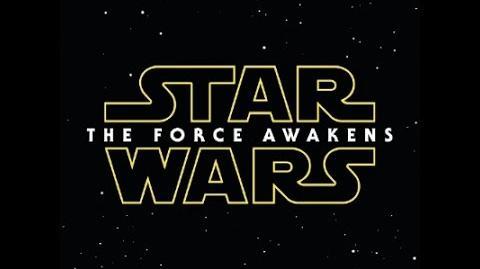 Star Wars Episode VII- The Force Awakens Soundtrack