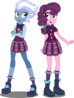 Eqg night glider and sugar belle by xebck-d92irva
