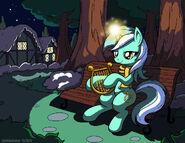 Lyra s winter night by latecustomer-d5lywcl