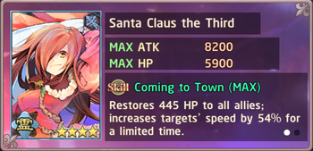 Santa Claus the Third Exchange Box
