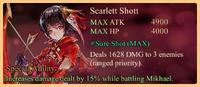 Scarlett Shott Special Daemon Ability Banner