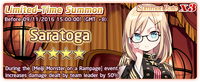 Saratoga Summon Banner