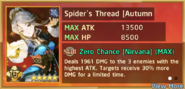 Spider's Thread Autumn Sky Summon Preview