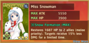 Miss Snowman Summon Preview