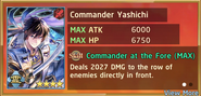 Commander Yashichi Summon Preview