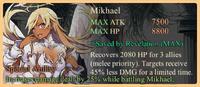 Mikhael Special Ability Daemon Banner
