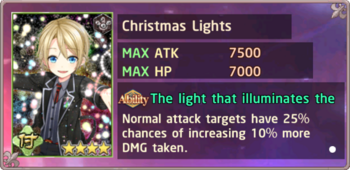 Christmas Lights Exchange Box
