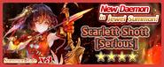 Scarlett Shott Serious Summon Banner