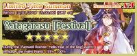 Yatagarasu Festival Summon Banner