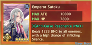 Emperor Sutoku Summon Preview