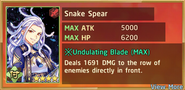Snake Spear Summon Preview