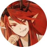 Shuten Doji Bridegroom Icon Circle