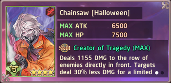 Chainsaw Halloween Exchange Box