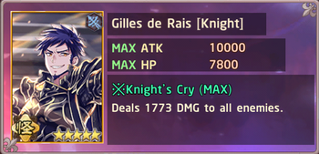 Gilles de Rais Knight Exchange Box