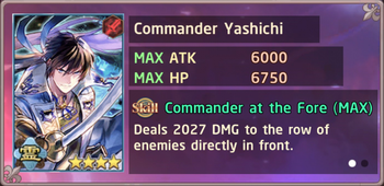 Commander Yashichi Exchange Box